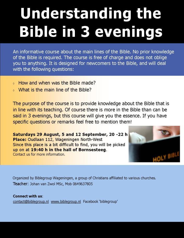 Biblecourse poster 2015
